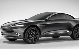 SUV đầu tiên của Aston Martin sử dụng động cơ Mercedes-AMG