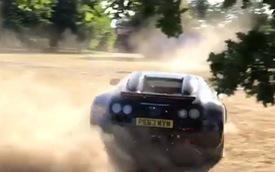 Dân chơi mang Bugatti Veyron Vitesse WRC triệu đô đi drift và off-road