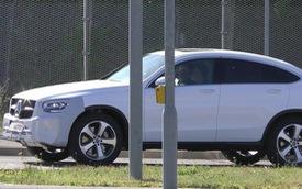 Mercedes-Benz GLC Coupe 2019 tiếp tục lộ diện không cần ngụy trang, đã tiến rất sát ngày ra mắt