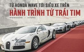 Từ Honda Wave tới Range Rover: 27 ngày xuyên Việt trên Hành trình từ trái tim diễn ra như thế nào?