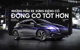 Thiết kế đẹp mắt chưa đủ, 10 mẫu xe sau xứng đáng có động cơ tốt hơn