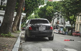 """Sẽ thế nào nếu một chiếc Rolls-Royce Ghost được """"độ"""" phần cản của Rolls-Royce Wraith?"""