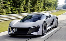 Audi PB18 Concept - Xe 3 trong 1: xe đua, hatchback hiệu suất cao và... mô tô phân khối lớn