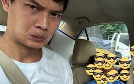 Góc hồn nhiên: Tài xế taxi nhờ hành khách lái xe hộ rồi lăn ra ngủ, đến nơi vẫn được trả tiền không thiếu một xu