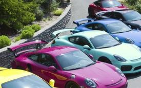 Nữ đại gia chơi trội với bộ sưu tập Porsche chất lừ đầy màu sắc