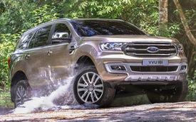Chiều nay, Ford Everest bản nâng cấp mới ra mắt tại Việt Nam