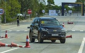 SUV 7 chỗ đua ra mắt, Chevrolet Trailblazer miệt mài cho khách Việt thử xe