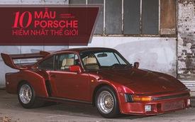 Giới siêu giàu cũng chưa chắc mua được 10 mẫu Porsche sau đây
