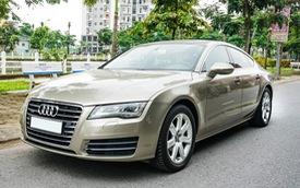 Audi A7 Sportback 7 năm tuổi bán lại 1,5 tỷ đồng tại Hà Nội