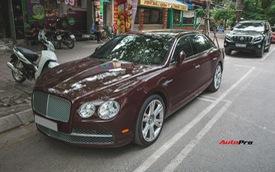 Bentley Continental Flying Spur màu lạ - Xe siêu sang cho đại gia Việt thích hàng độc