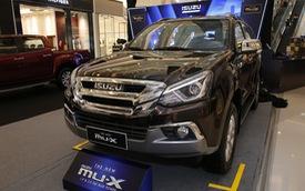 Ra mắt Isuzu mu-X 2018: SUV 7 chỗ rẻ nhất Việt Nam