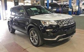 Giá xe đã tăng, khách mua Ford Explorer 2018 còn phải bỏ thêm hơn 200 triệu đồng mua gói bổ sung