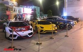 Đại gia Sài Gòn tổ chức sinh nhật bằng dàn siêu xe cả trăm tỷ đồng