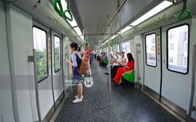 Ảnh: Trải nghiệm bên trong đoàn tàu đường sắt trên cao Cát Linh - Hà Đông ngày chính thức chạy thử