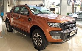 Bản mới về đại lý, Ford Ranger Wildtrak cũ được thanh lý với giá rẻ, tiết kiệm cả trăm triệu đồng