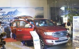 Bộ đôi Ford Ranger/Everest mới đồng loạt ra mắt khách hàng Hà Nội