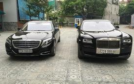 Đại gia Tuyên Quang sở hữu Rolls-Royce, Mercedes-Maybach, Range Rover toàn biển tứ quý