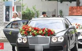 Xe sang 10 tỷ của John Tuấn Nguyễn gây chú ý trong lễ đính hôn của Lan Khuê