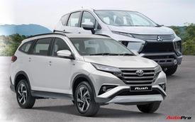 Mua xe 7 chỗ giá dưới 700 triệu đồng, chọn Toyota Rush hay Mitsubishi Xpander?