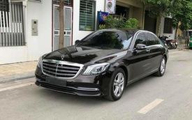 Đại gia Hà Nội chấp nhận lỗ hơn nửa tỷ đồng để bán lại Mercedes-Benz S450 L mới tậu