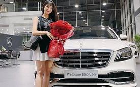 """Người đẹp Diệp Lâm Anh mạnh tay chi hơn 7 tỷ """"tậu"""" Mercedes-Benz S450 Maybach"""