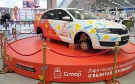Trưng bày trong trung tâm thương mại, ô tô vẫn bị trộm sạch cả 4 bánh