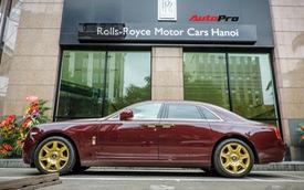 Rolls-Royce Ghost mạ vàng chính hãng ra biển trắng sau gần 5 năm về Việt Nam