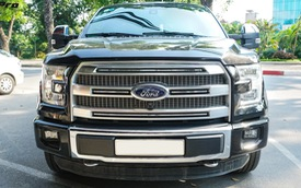 Siêu bán tải Ford F-150 Platinum - Hàng hiếm tiền tỷ trên thị trường xe cũ Việt Nam