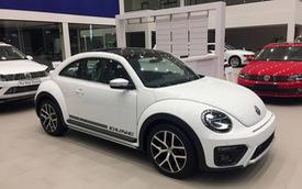 Giá xe Volkswagen chuyển từ khuyến mại cũ sang niêm yết mới từ năm 2018