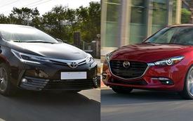 Toyota Corolla Altis bán chạy, đe doạ vị thế của Mazda3