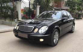 Mercedes-Benz E200 đi 14 năm bán lại được bao nhiêu?