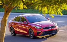 Kia Forte 2019 rộng rãi hơn và tiết kiệm nhiên liệu hơn trước