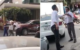 Hà Nội: Thanh niên bảnh bao lùi xe gây va chạm với taxi rồi thẳng tay đập đầu tài xế đến vỡ kính