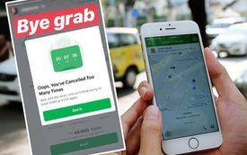Hàng loạt khách hàng bức xúc khi tài xế Grab nhận chuyến rồi yêu cầu khách hủy vì... ở xa không đón được