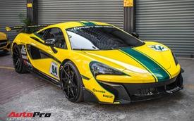 """Khám phá chi tiết McLaren 570S từng của Cường """"Đô-la"""" lột xác như xe đua F1 GTR"""