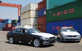 Lộ ảnh BMW 5-Series 2019 đầu tiên Việt Nam