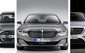 So găng thiết kế BMW 7-Series vs Audi A8 vs Mercedes-Benz S-Class