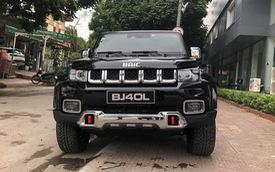 Ô tô Trung Quốc thiết kế như Jeep, nội thất kiểu Mercedes-Benz về Việt Nam ngay trước Tết