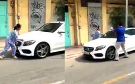 Cái kết bất ngờ vụ người phụ nữ cầm búa đập phá xế sang Mercedes gần 2 tỷ trên phố Sài Gòn