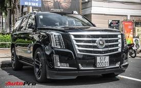 Cadillac Escalade 2015 biển khủng và độc nhất trên phố Sài Gòn