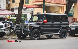 Mercedes-AMG G63 có màu sơn giá hơn 90 triệu đồng xuất hiện trên phố