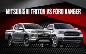 So kè Mitsubishi Triton vs Ford Ranger: Vận hành đấu tiện nghi