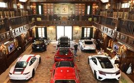 """Chỉ một bộ sưu tập xe """"nhỏ"""" như dưới đây đã tốn chừng này tiền của để duy trì hàng năm"""