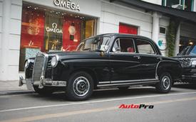 Mercedes-Benz 190 - Xe sang hàng hiếm gần 60 năm tuổi tại Việt Nam