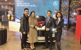 Vợ chồng ca sĩ Tuấn Hưng sắm Mercedes-Benz S450L Luxury hơn 5 tỷ đồng