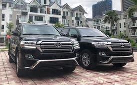 Toyota Land Cruiser 2019 chính hãng được chào bán với giá xấp xỉ 4 tỷ đồng