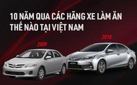 10 năm qua, các hãng xe 'ăn nên làm ra' như thế nào tại Việt Nam: 1 cái tên Nhật Bản gây bất ngờ lớn