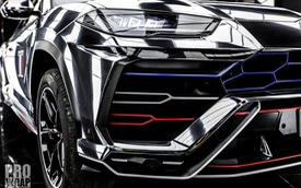 """Minh """"nhựa"""" đổi màu Lamborghini Urus, chuẩn bị hành trình siêu xe đầu tiên năm 2019"""