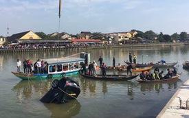 Nữ sinh thoát chết hoảng loạn kể lại giây phút bố lái xe ô tô lao xuống sông khiến cả nhà tử vong