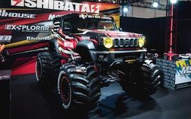 """Mang ngoại hình như """"Mẹc G"""", Suzuki Jimny là xe mới được độ lại nhiều nhất"""